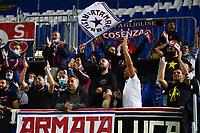 Mg Brescia 27/08/2021 - campionato di calcio serie B / Brescia-Cosenza / photo Image Sport/Insidefoto<br /> nella foto: tifosi Cosenza