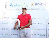 Julien Quesne (FRA) on winning the 2012 Open de Andalucia Costa del Sol at Aloha Golf Club, Marbella, Spain...(Photo Jenny Matthews/www.golffile.ie)