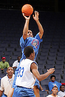 G/F William Buford (Toledo, OH / Libbey) shoots the ball during the NBA Top 100 Camp held Friday June 22, 2007 at the John Paul Jones arena in Charlottesville, Va. (Photo/Andrew Shurtleff)