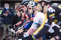 Laurens Sweeck (BEL/Pauwels Sauzen-Bingoal)pre race focus <br /> <br /> CX Belgian Nationals 2021<br /> <br /> Elite Men's Race<br /> Belgian National CX Championships<br /> Meulebeke 2021<br /> <br /> ©Kramon