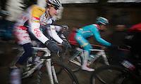 Ronde van Vlaanderen 2013..Jürgen Roelandts (BEL) up the Taaienberg