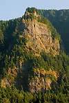 Columbia Gorge Rock Formations Near Crown Point