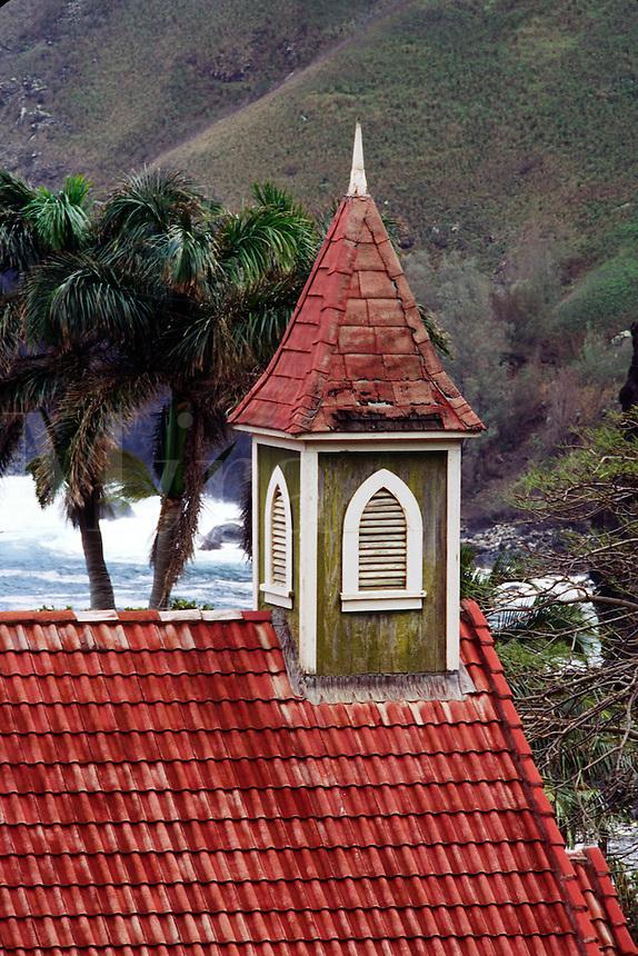 TRADITIONAL HAWAIIAN CHURCH - KAHAKULOA HAWAIIAN CONGREGATIONAL CHURCH - in WEST MAUI - MAUI, HAWAII