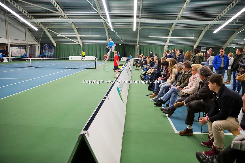 Januari 24, 2015, Rotterdam, ABNAMRO, Supermatch, supporters<br /> Photo: Tennisimages/Henk Koster