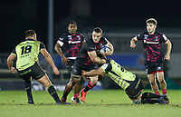 20th December 2020; The Sportsground, Galway, Connacht, Ireland; European Champions Cup Rugby, Connacht versus Bristol Bears; Ben Earl holds on to  the ball for Bristol Bears