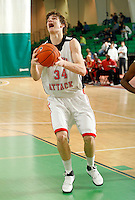 April 10, 2011 - Hampton, VA. USA;  Adam Woodbury participates in the 2011 Elite Youth Basketball League at the Boo Williams Sports Complex. Photo/Andrew Shurtleff