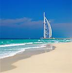 United Arab Emirates, Dubai: The Burj Al Arab | Vereinigte Arabische Emirate, Dubai: Strand, das Burj al Arab