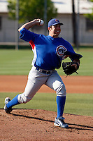 Blake Parker - Chicago Cubs - 2009 spring training.Photo by:  Bill Mitchell/Four Seam Images