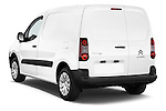Car pictures of rear three quarter view of a 2015 Citroen BERLINGO 1.6 VT 4 Door Car Van Angular Rear