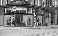 Antwerp street and pedestrians