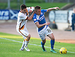 St Johnstone v Bradford City…19.07.16  McDiarmid Park, Perth. Pre-season Friendly<br />Connor McLaren is fouled by a Bradford City trialist (Agnew)<br />Picture by Graeme Hart.<br />Copyright Perthshire Picture Agency<br />Tel: 01738 623350  Mobile: 07990 594431