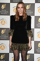 Jodie Comer<br /> arriving for the RTS Awards 2019 at the Grosvenor House Hotel, London<br /> <br /> ©Ash Knotek  D3489  19/03/2019