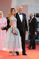 VENICE, ITALY - SEPTEMBER 11: Penelope Cruz and Director Alberto Barbera attends the closing ceremony red carpet during the 78th Venice International Film Festival on September 11, 2021 in Venice, Italy. <br /> CAP/MPI/AF<br /> ©AF/MPI/Capital Pictures