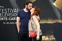 David MORA, Anne-Elisabeth BLATEAU - Photocall 'SCENES DE MENAGE' - 57ème Festival de la Television de Monte-Carlo. Monte-Carlo, Monaco, 17/06/2017. # 57EME FESTIVAL DE LA TELEVISION DE MONTE-CARLO - PHOTOCALL 'SCENES DE MENAGE'
