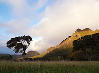 Kualoa Regional Park on the island of O'Ahu, Hawai?i