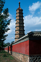 Liu He Pagode im Sommerpalast in Chengde, China, Unesco-Weltkulturerbe