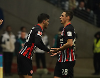 Andre Silva (Eintracht Frankfurt) kommt für Dominik Kohr (Eintracht Frankfurt) - 18.12.2019: Eintracht Frankfurt vs. 1. FC Koeln, Commerzbank Arena, 16. Spieltag<br /> DISCLAIMER: DFL regulations prohibit any use of photographs as image sequences and/or quasi-video.