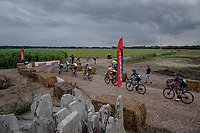 Antwerp Port Epic / Sels Trophy 2021 (BEL)<br /> One day race from Antwerp to Antwerp (183km)<br /> <br /> The APC stands qualified as a 'road race', but with 36km of gravel and 28km of cobbled sections in and around the Port of Antwerp (BEL) this race occupies a unique spot in the Belgian race scene.<br /> <br /> ©kramon