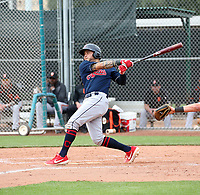 Jonathan Laureano - Cleveland Indians 2020 spring training (Bill Mitchell)