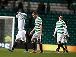 Celtic troop off dejected