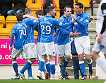 St Johnstone v Inverness Caley Thistle...02.05.15   SPFL<br /> Brian Graham celebrates his goal<br /> Picture by Graeme Hart.<br /> Copyright Perthshire Picture Agency<br /> Tel: 01738 623350  Mobile: 07990 594431