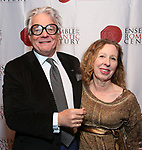 """Donald T. Sanders and Eve Wolf attend the Opening Night Celebration for Ensemble for the Romantic Century Off-Broadway Premiere of<br />""""Maestro"""" at the West Bank Cafe on January 15, 2019 in New York City."""