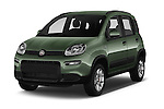 2016 Fiat Panda-4X4 Pop 5 Door Hatchback Angular Front stock photos of front three quarter view
