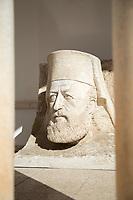 Statue of Archbishop Makarios III in Paphos, Cyprus