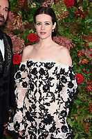 Claire Foy<br /> arriving for the 2018 Evening Standard Theatre Awards at the Theatre Royal Drury Lane, London<br /> <br /> ©Ash Knotek  D3460  18/11/2018