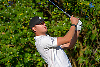 Tyler Wood. Day two of the Renaissance Brewing NZ Stroke Play Championship at Paraparaumu Beach Golf Club in Paraparaumu, New Zealand on Friday, 19 March 2021. Photo: Dave Lintott / lintottphoto.co.nz