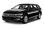 2020 Volkswagen Passat-Variant Elegance-Business 5 Door Wagon Angular Front automotive stock photos of front three quarter view