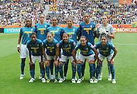 Fifa Women's World Cup Germany 2011 : Brazil - Australia  at Borussia - Park in Munchengladbach : groepsfoto - group picture Brazil.foto DAVID CATRY / Vrouwenteam.be