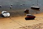 Beached Rowboats, Balboa Island, CA.