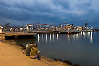 Spanien, Barcelona, an der Rambla de Mar