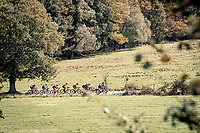 race leaders over the Plugstreets<br /> <br /> 82nd Gent-Wevelgem in Flanders Fields 2020 (1.UWT)<br /> 1 day race from Ieper to Wevelgem (232km)<br /> <br /> ©kramon