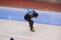 SCHAATSEN: SALT LAKE CITY: Utah Olympic Oval, 16-11-2013, Essent ISU World Cup, 1000m, Shani Davis (USA), ©foto Martin de Jong