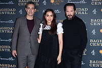 "Waleed Zuaiter, July Namir and Bertie Carvel<br /> arriving for the ""Baghdad Central"" screening at the BFI South Bank, London.<br /> <br /> ©Ash Knotek  D3548 16/01/2020"