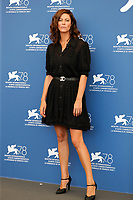 """VENICE, ITALY - SEPTEMBER 06: Anna Mouglalis at the photocall of """"L'Evenement"""" during the 78th Venice International Film Festival on September 06, 2021 in<br /> CAP/GOL<br /> ©GOL/Capital Pictures"""