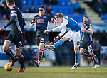 St Johnstone v Ross County…24.02.18…  McDiarmid Park    SPFL<br />David Wotherspoon shoots wide<br />Picture by Graeme Hart. <br />Copyright Perthshire Picture Agency<br />Tel: 01738 623350  Mobile: 07990 594431