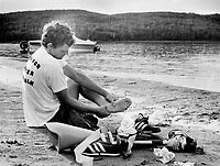 Terry Fox<br /> <br /> Photo : Boris Spremo - Toronto Star archives - AQP