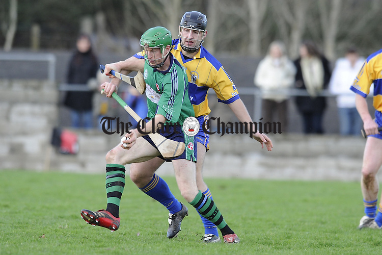 Clare v LIT hurling at Meelick.Pic Arthur Ellis.