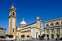 Piazza Umberto I in Caltagirone, Sizilien, Italien