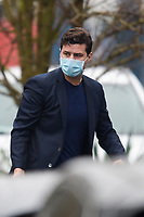 3rd January 2021; Paris, France; The arrival at the PSG training ground for newly confirmed trainer Mauricio Pochettino