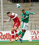 17.10.2020, Schwarzwald Stadion, Freiburg, GER, 1.FBL, SC Freiburg vs SV Werder Bremen<br /> <br /> im Bild / picture shows<br /> Christian Günter (Freiburg), Jean Manuel Mbom (Bremen)<br /> <br /> Foto © nordphoto / Bratic<br /> <br /> DFL REGULATIONS PROHIBIT ANY USE OF PHOTOGRAPHS AS IMAGE SEQUENCES AND/OR QUASI-VIDEO.