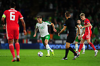 Jeff Hendrick of Republic of Ireland during the UEFA Nations League B match between Wales and Ireland at Cardiff City Stadium in Cardiff, Wales, UK.September 6, 2018