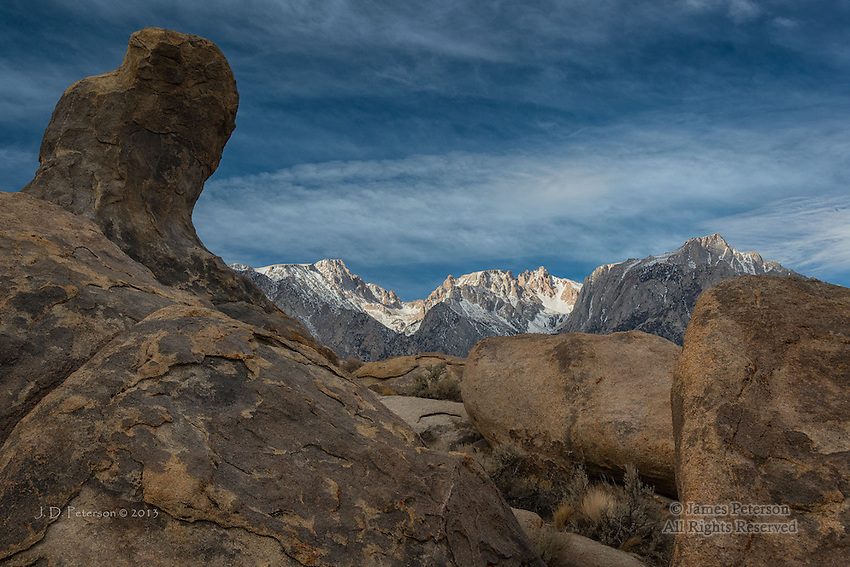 Alabama Hills and Eastern Sierras, California