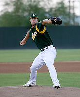 Justin Murray / AZL Athletics..Photo by:  Bill Mitchell/Four Seam Images