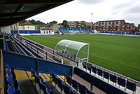 General view from the main stand - Grays Athletic Football Club - 12/08/05 - MANDATORY CREDIT: Gavin Ellis/TGSPHOTO. Self-Billing applies where appropriate. NO UNPAID USE. Tel: 0845 094 6026