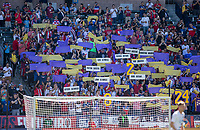 CARSON, CA - FEBRUARY 1: Kobe Bryant tribute during a game between Costa Rica and USMNT at Dignity Health Sports Park on February 1, 2020 in Carson, California.