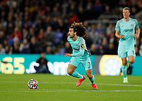 27th September 2021;  Selhurst Park, Crystal Palace, London, England; Premier League football, Crystal Palace versus Brighton & Hove Albion: Marc Cucurella of Brighton & Hove Albion